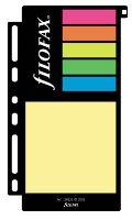 Filofax barevné lepící papírky A6