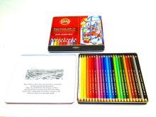 Koh-I-Noor 3824/24 pastelky umělecké 24ks Polycolor