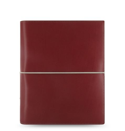 Filofax Domino A5 červený diář