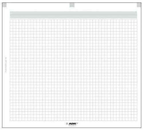 Náplň do diáře ADK A5 čtverečkovaný papír formulář