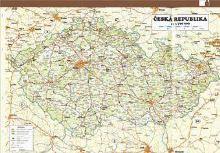 Náplň do diáře ADK A6 mapa ČR a Prahy formulář