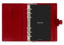 Filofax Finsbury A6 Personal červený diář osobní personální DOPRODÁNO