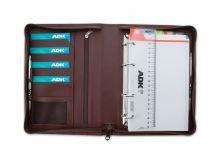 ADK diář DIPLOMAT A5 hnědý plánovací systém