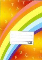 Sešit 644 A6 linkovaný 40 stran
