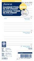 Filofax Kalendář A6 2022 týden na dvě strany