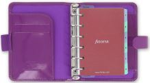 Diář Filofax Patent A7 Pocket fialový