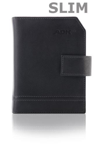 Diář ADK Elegant Slim A6 personal černý