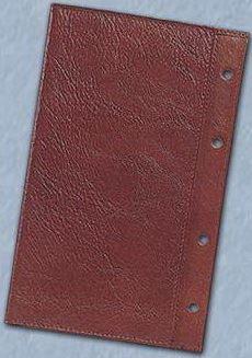 ADK kožený obal na organizér hnědý