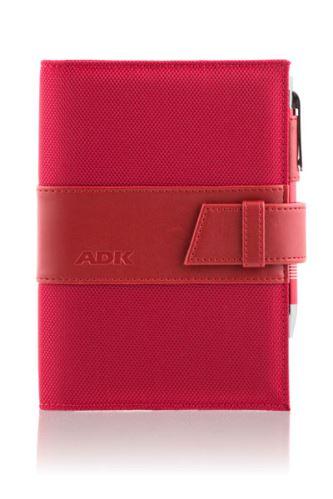 ADK diář ASISTENT A6 červený plánovací systém