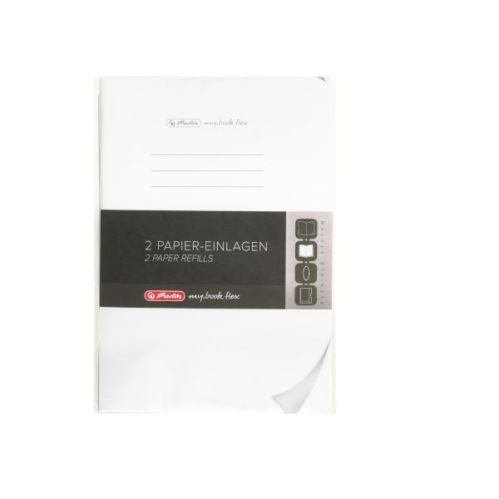 Herlitz náplň flex A5 2x40 listů čistý