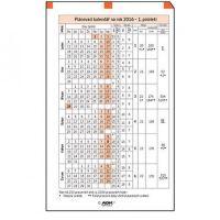 Náplň do diáře ADK A5 plánovací kalendář 2020