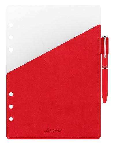 Filofax přídavné poutko na pero + červené pero