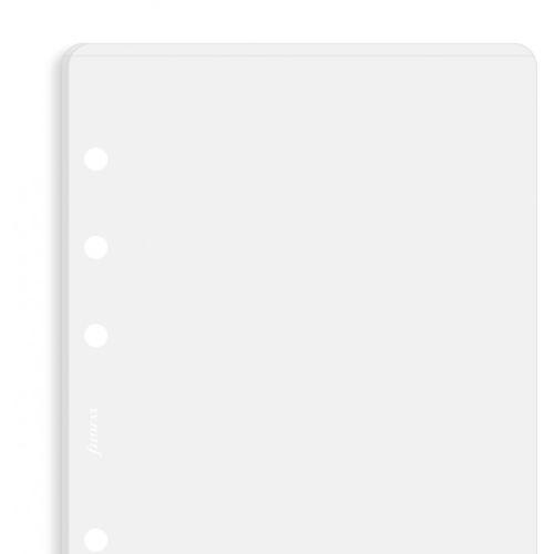 Filofax průhledná obálka s horním otevíráním A5 náplň do diáře