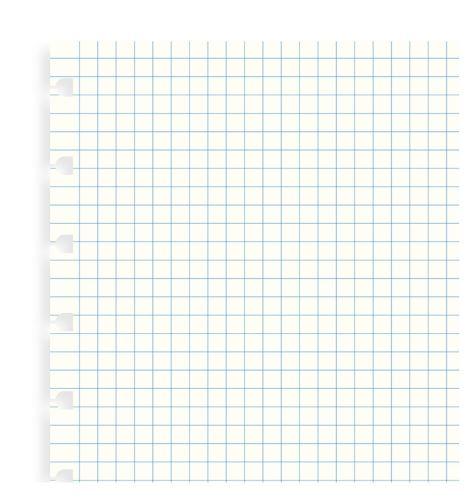 Filofax Notebook A5 náplň čtverečkované papíry