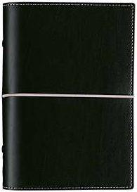 Diář Filofax Domino formát A6 černý black