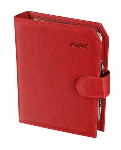 ADK diář PRAKTIK A6 červený plánovací systém