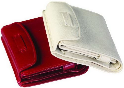 Kožená peněženka ADK PARAMARIBO červená