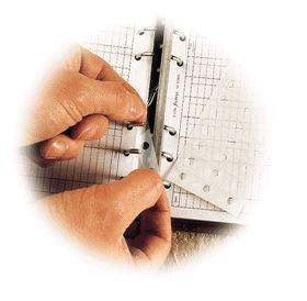 Filofax zpevňující záplaty A6