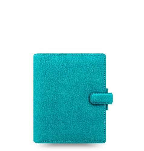Filofax Finsbury A7 Pocket akvamarín diář kapesní