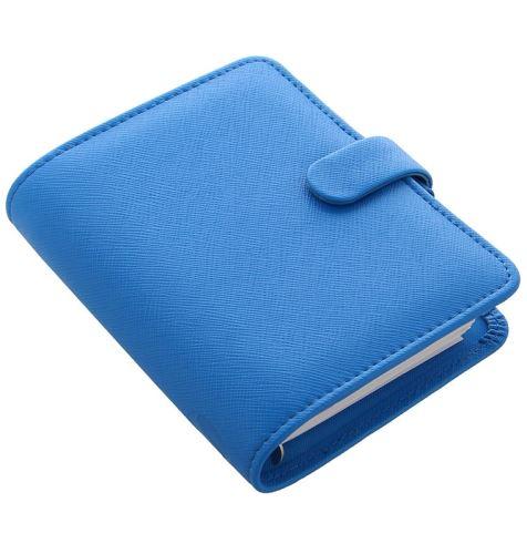 Filofax Saffiano A7 Pocket Fluoro diář kapesní