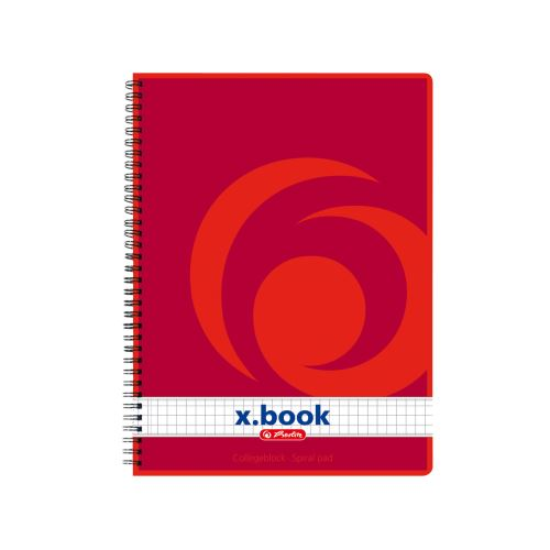 Herlitz x.book blok College kroužkový A5 čtverečkovaný