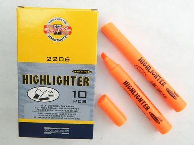 Koh-I-Noor zvýrazňovač 2206 oranžový