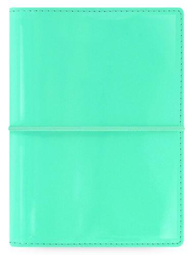 Diář Filofax Domino patent A7 ledově zelený