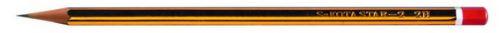 Sakota grafitová tužka 2H pruhovaná