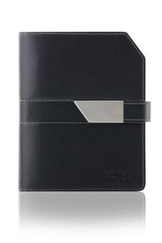 ADK diář NEWELEGANT A6 černý plánovací systém