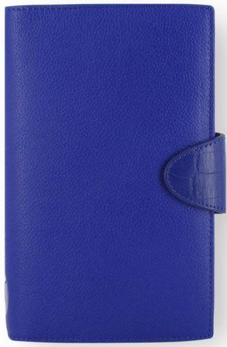 Diář Filofax Calipso formát Compact modrý