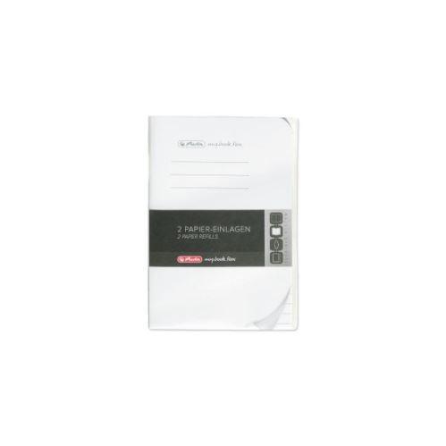 Herlitz náplň flex A6/2x40 listů linkovaný