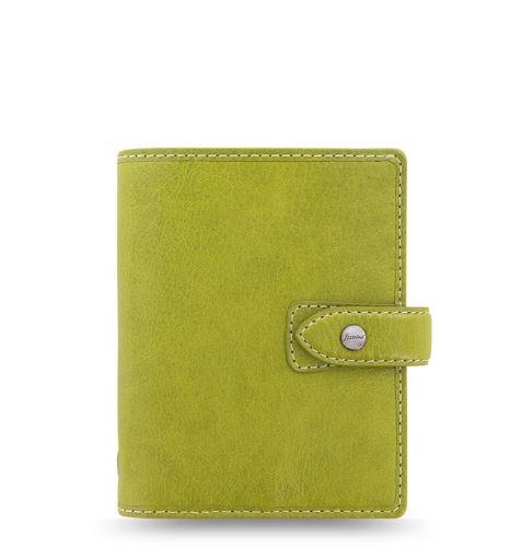 Filofax Malden A7 Pocket zelený diář kapesní