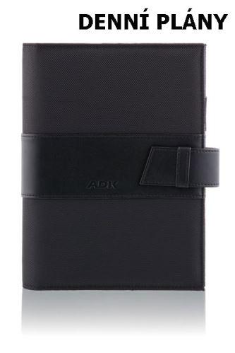 ADK diář NewMANAGER A5 černý plánovací systém