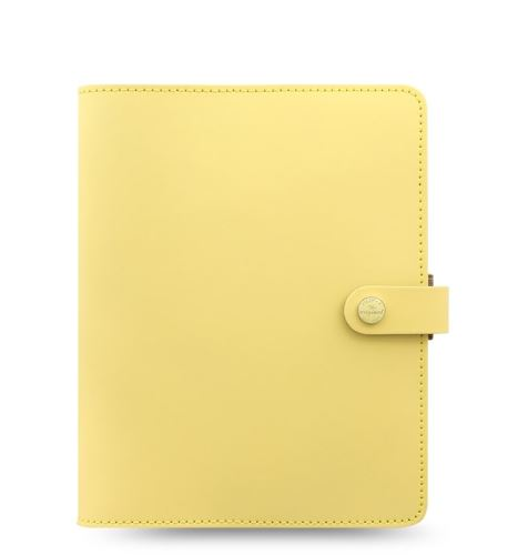 Filofax The Original A5 lemon diář kožený