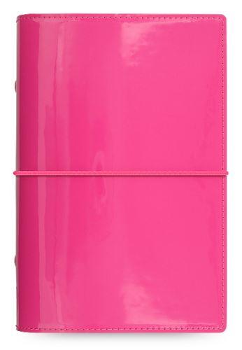 Diář Domino Patent růžový