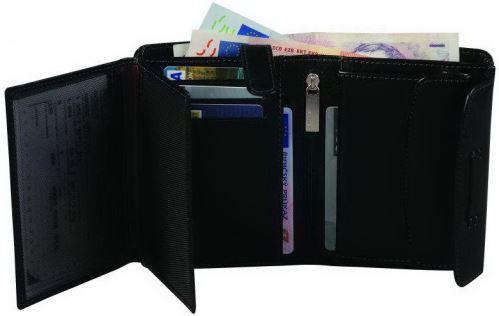 ADK peněženka PARAMABIRO černá