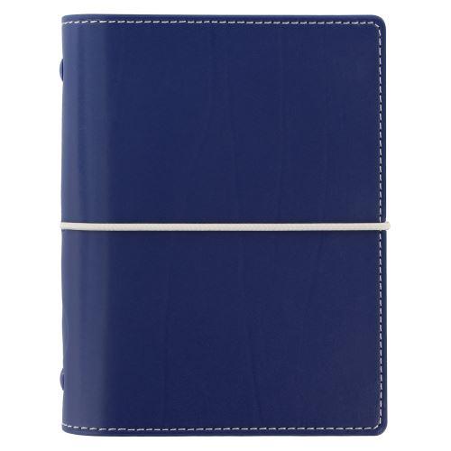 Filofax Domino A7 Pocket navy diář kapesní