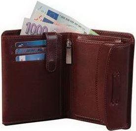 ADK peněženka PARAMABIRO hnědá