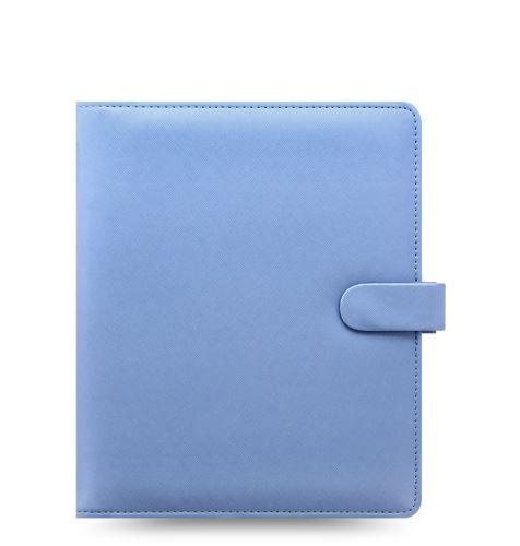 Filofax Saffiano A5 modrý diář