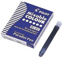 Pilot IC-P3-S6 6 náplní do plnícího pera Parallel 1086, 1087 modrá