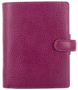 Filofax Finsbury A7 Pocket malinový diář kapesní