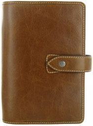 Filofax Malden A7 Pocket oříškově hnědý diář kapesní