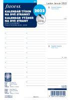 Filofax Kalendář A5 2022 týden na dvě strany