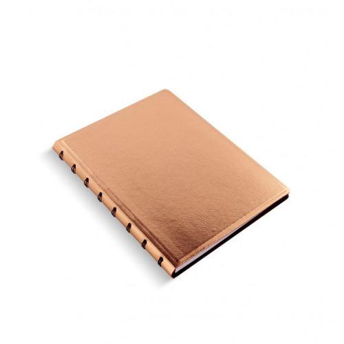 Filofax Saffiano A5 Rose Gold zápisník