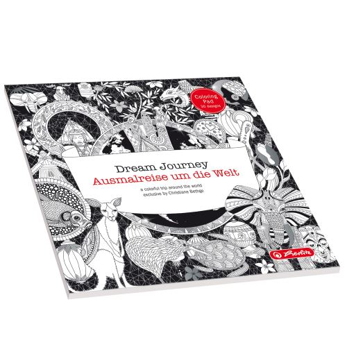 Herlitz Dream Journey antistresové omalovánky 20x20