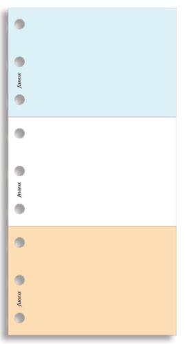 Filofax Jot Pad 3 barevné odtrhávací bločky A6