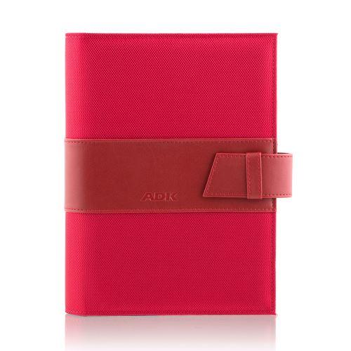 ADK diář MANAGER A5 červený plánovací systém denní