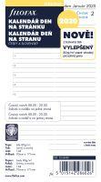 Filofax kalendář A6 2020 den na 1 stranu český