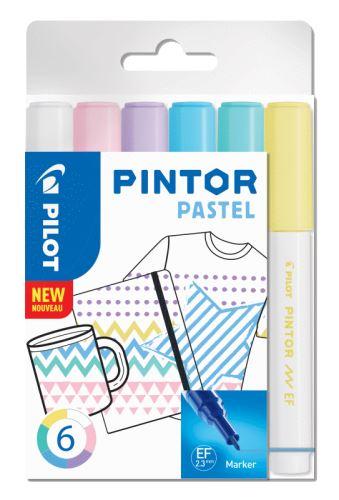 Pilot Pintor Extra Fine Pastel 6ks