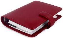 Filofax Metropol A7 Pocket červený diář kapesní